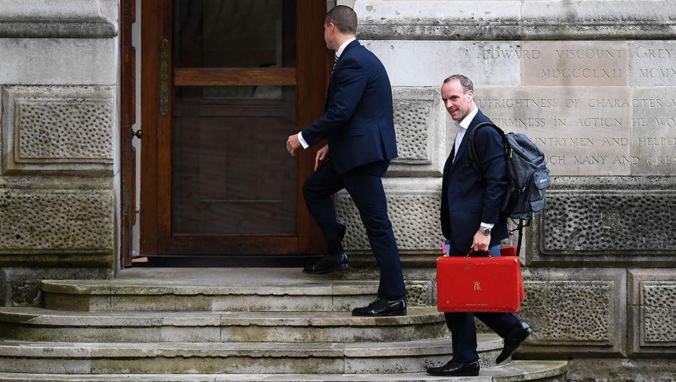Großbritanniens Außenminister DominicRaab