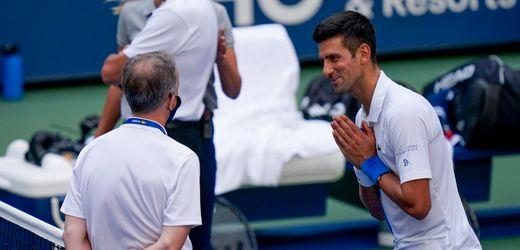 """Novak Djokovic bei US Open disqualifiziert: """"Unglaublich. Skandalös"""""""