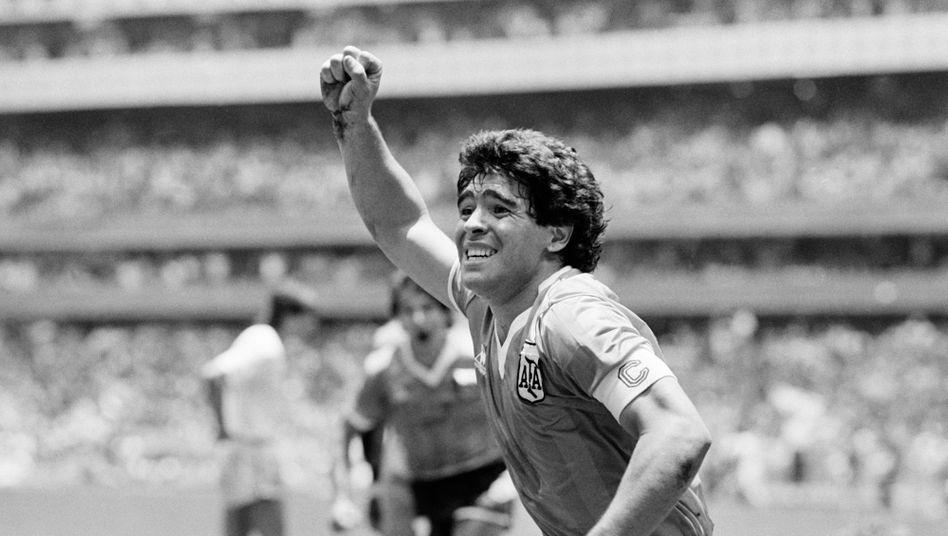 Diego Maradona führte Argentinien 1986 zum Weltmeistertitel in Mexiko