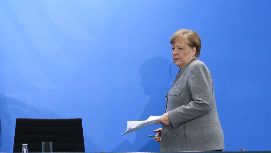 Kanzlerin Merkel: Vorbei ist in der Coronakrise die Zeit, in der politische Maßnahmen ihre Gültigkeit für Jahre behielten