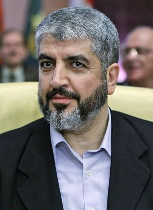 "Syrian-based Hamas leader Khaled Mashaal: ""Whether you like Hamas or not, it is a political entity that no one can ignore."""