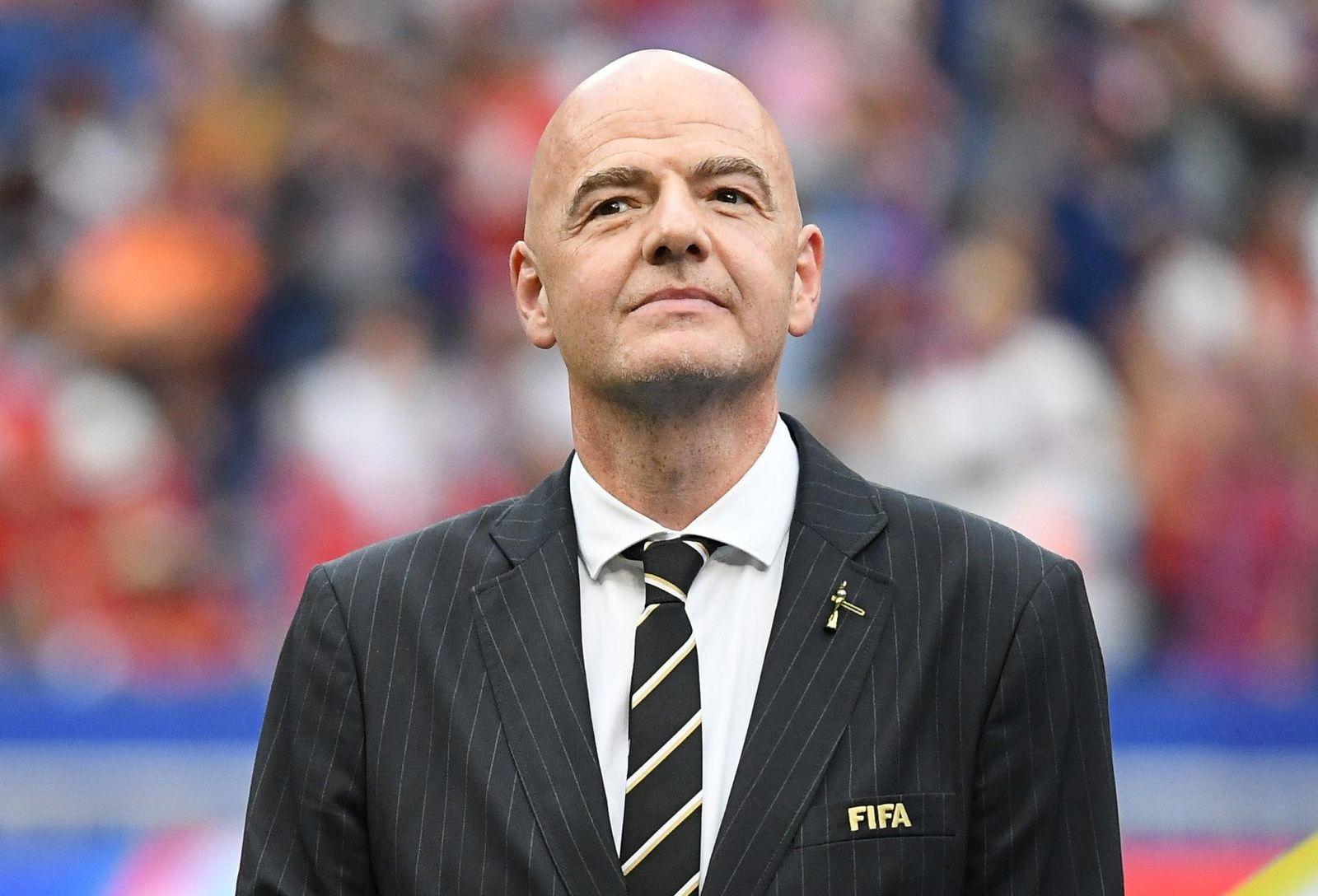 FIFA-Präsident Infantino