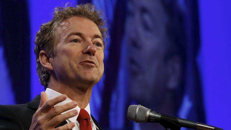 "US-Senator Paul: ""Unpatriotischstes aller Gesetze"""