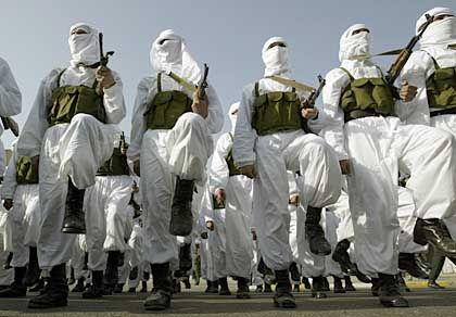 Parade in Bagdad: Für Saddam in den Tod