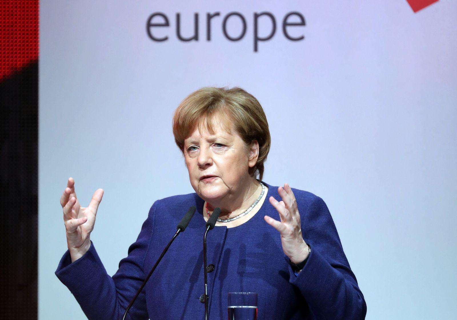 Angela Merkel/ Digitising Europe Summit