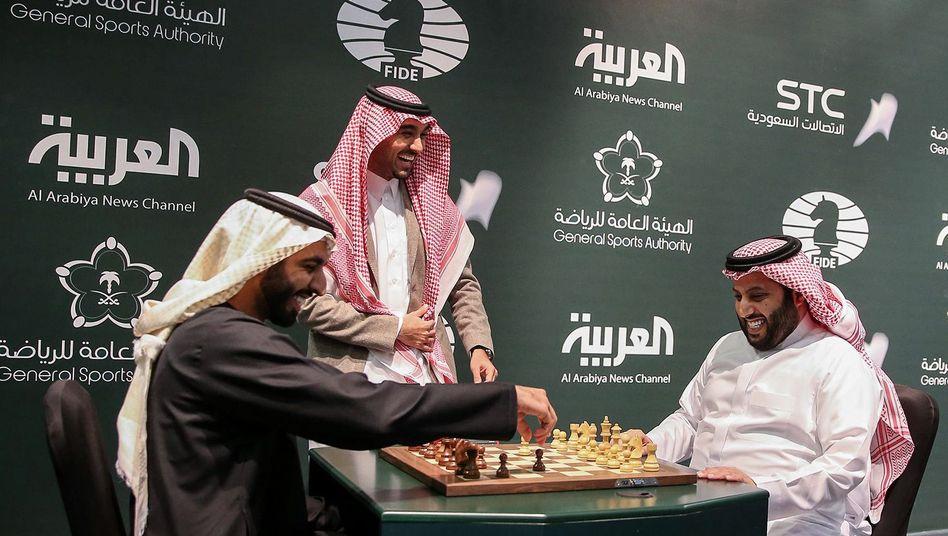 King Salman Schach-Weltmeisterschaft in Saudi-Arabien
