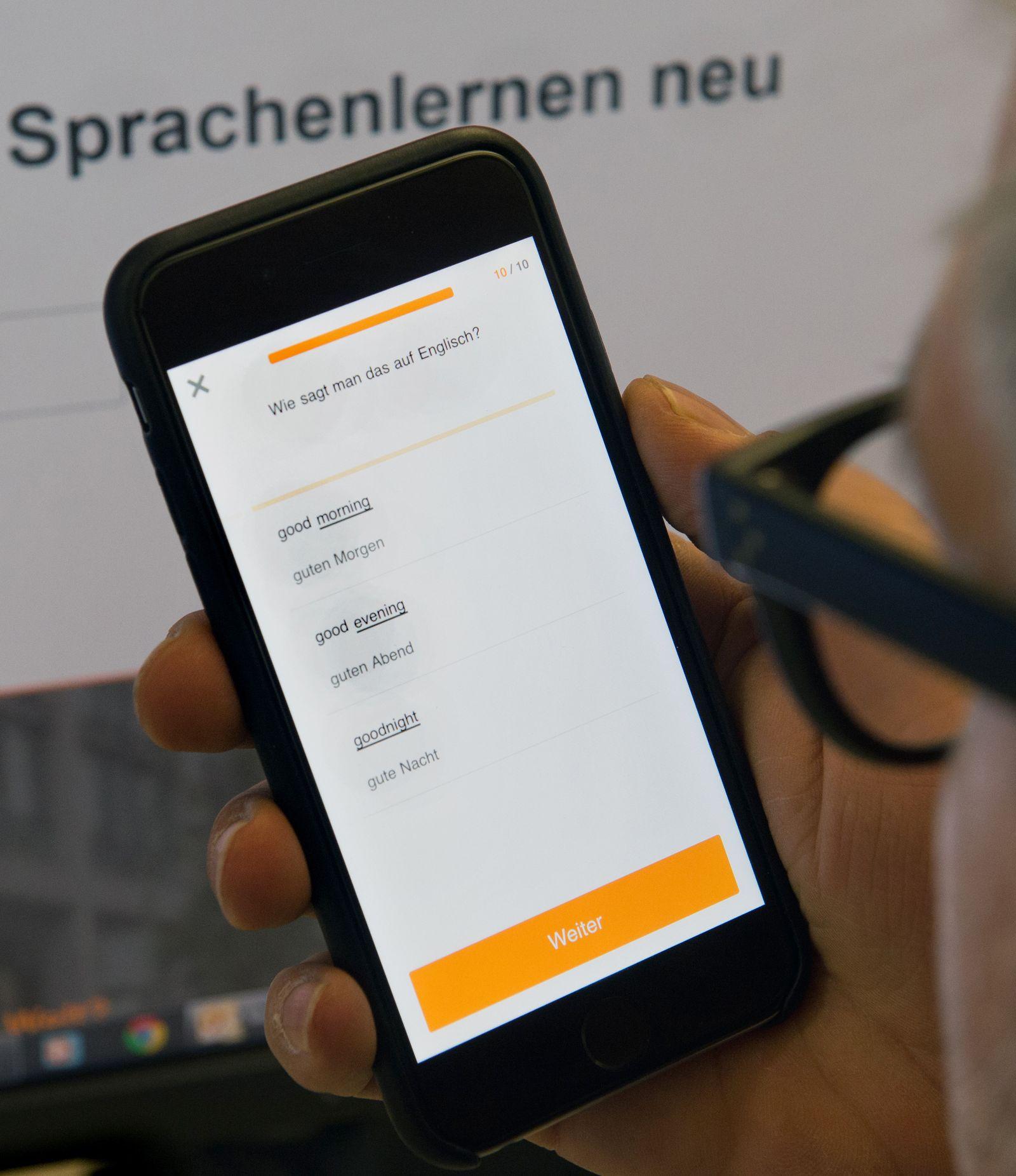 Babbel App/ Sprachen lernen mit dem Smartphone