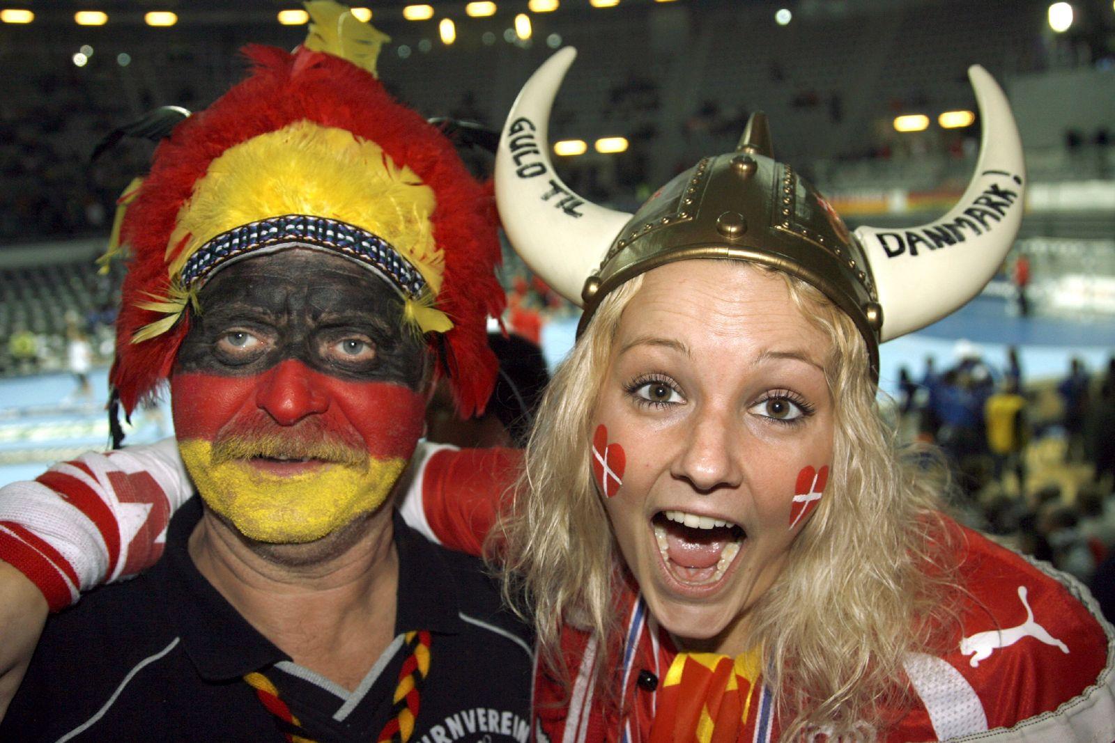 Handball Fans Deutschland Dänemark