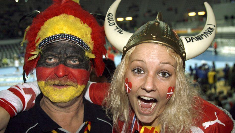 Internationale Freundschaft: Gut geht es den Dänen und denen, denen Dänen nahestehen