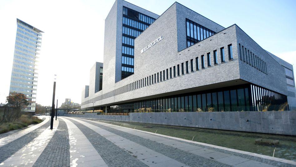 Das Europol-Hauptquartier in Den Haag