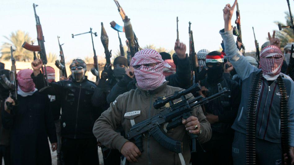 """Sunnitische Kämpfer in Anbar (Archivbild): """"Ihre Zahl wächst"""""""