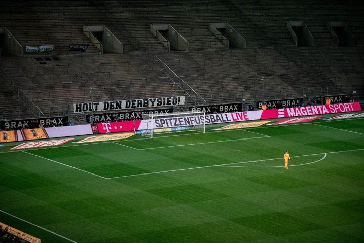 Spiel von Mönchengladbach gegen Köln (am 11. März 2020): damals noch mit 600 Menschen im Stadion