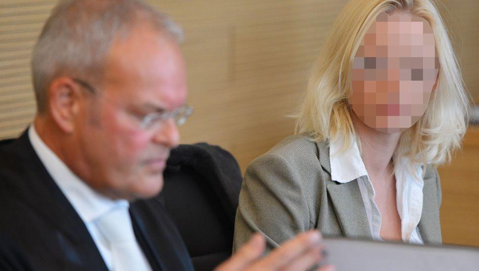 Mandy Kopp im Amtsgericht Dresden: Vorwurf der Verleumdung
