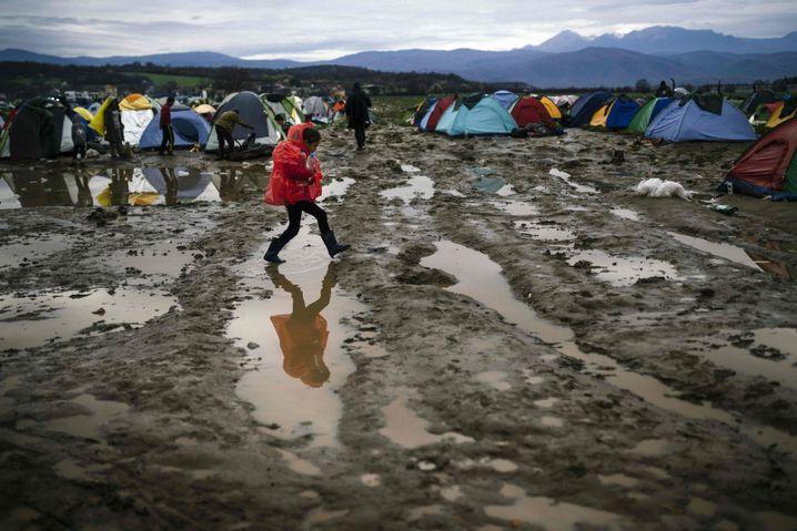 Zeltlager bei Idomeni