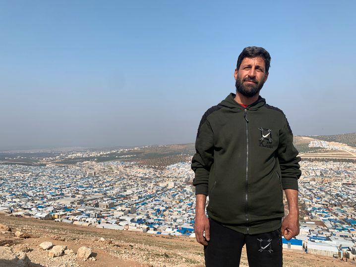 Hunderttausende Menschen leben in Idlib in informellen Lagern