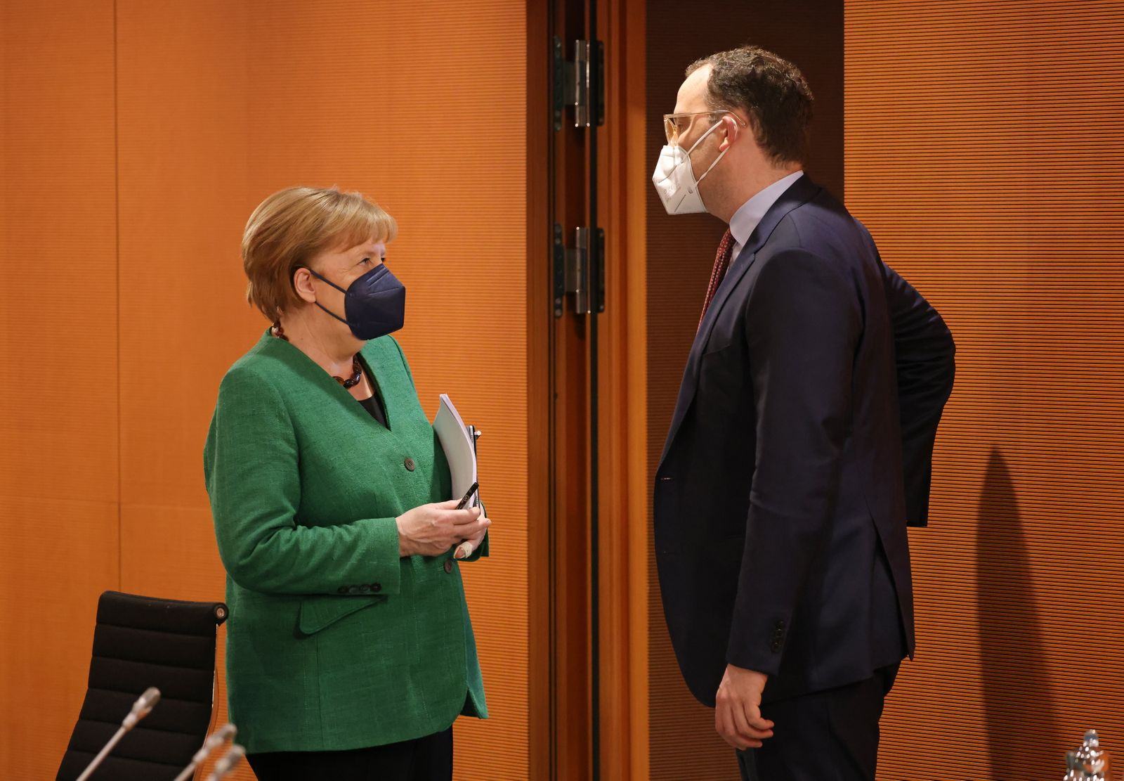Weekly Government Cabinet Meeting in Berlin