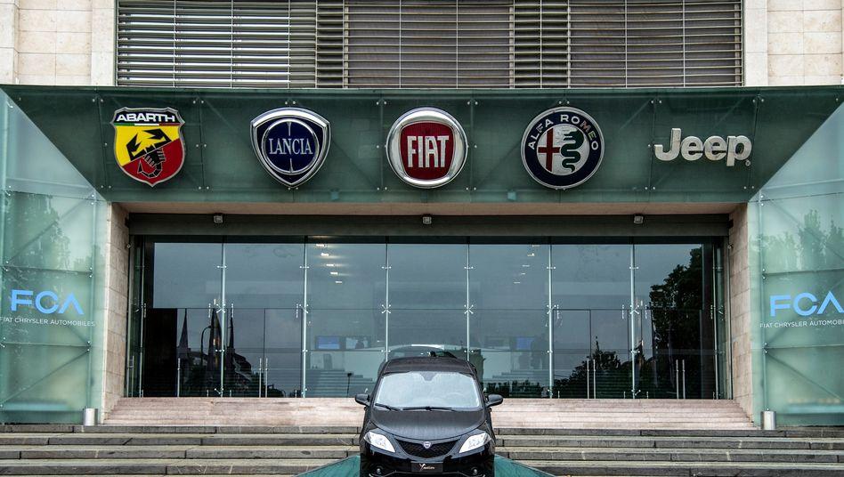 Fiat-Werk in Turin: Autos sollen mit einer unzulässigen Abschalteinrichtung versehen sein.