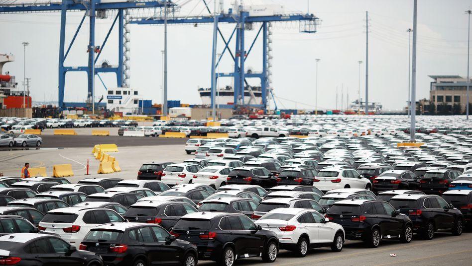 BMW-Fahrzeuge in den USA