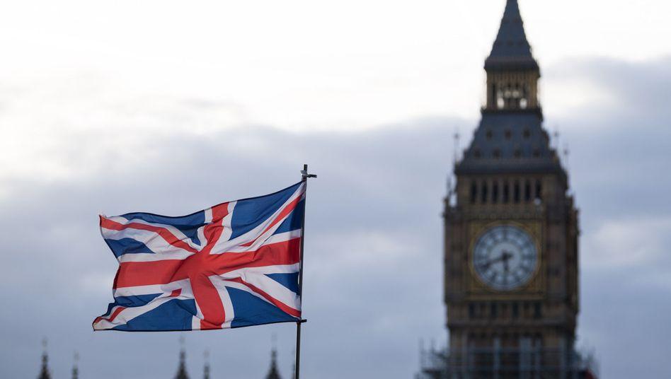 Union Jack und Big Ben