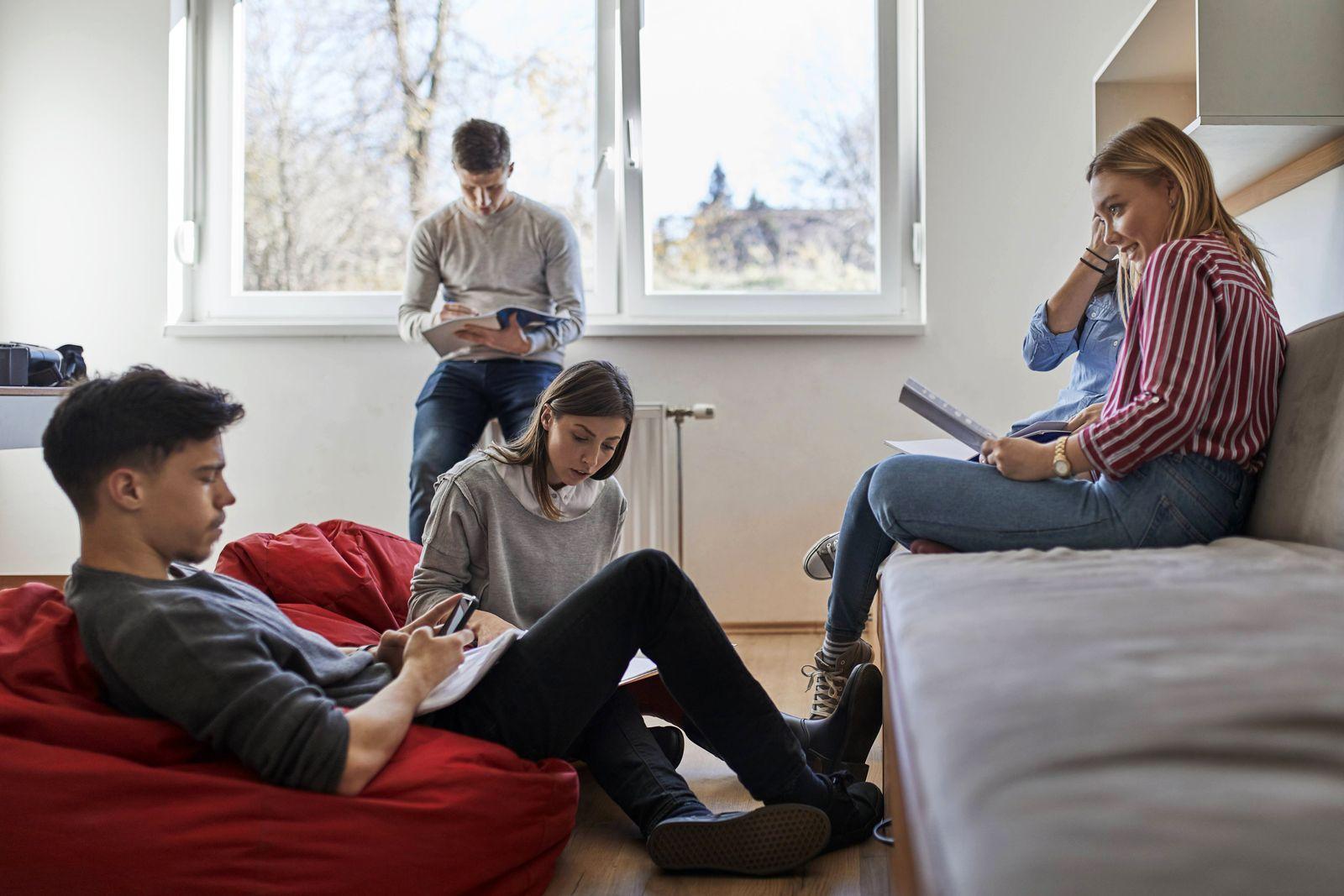 EINMALIGE VERWENDUNG Wohngemeinschaft / WG Studenten-WG