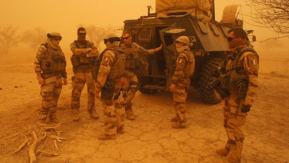 Französische Soldaten in Mali: Nicht fähig, die Lage zu verbessern