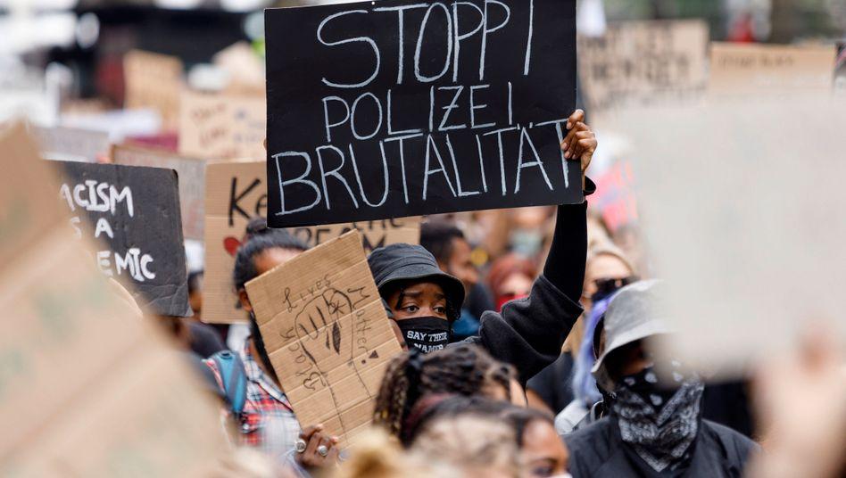 Anfang Juni: Anti-Rassismus-Demo in Köln