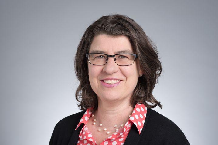 Martina Kirstan, 53 Jahre, verbeamtete Sozialarbeiterin und Vorsitzende des Beamtenausschusses bei Ver.di.