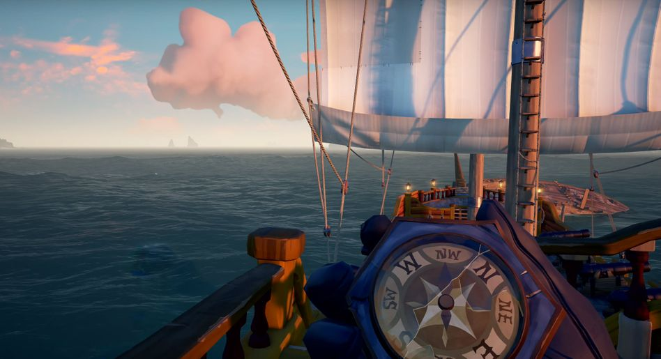 "Szene aus ""Sea of Thieves"""