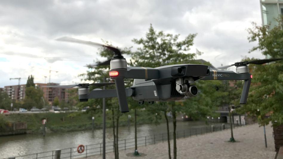Zweiter im Test: DJIs Drohne Mavic Pro