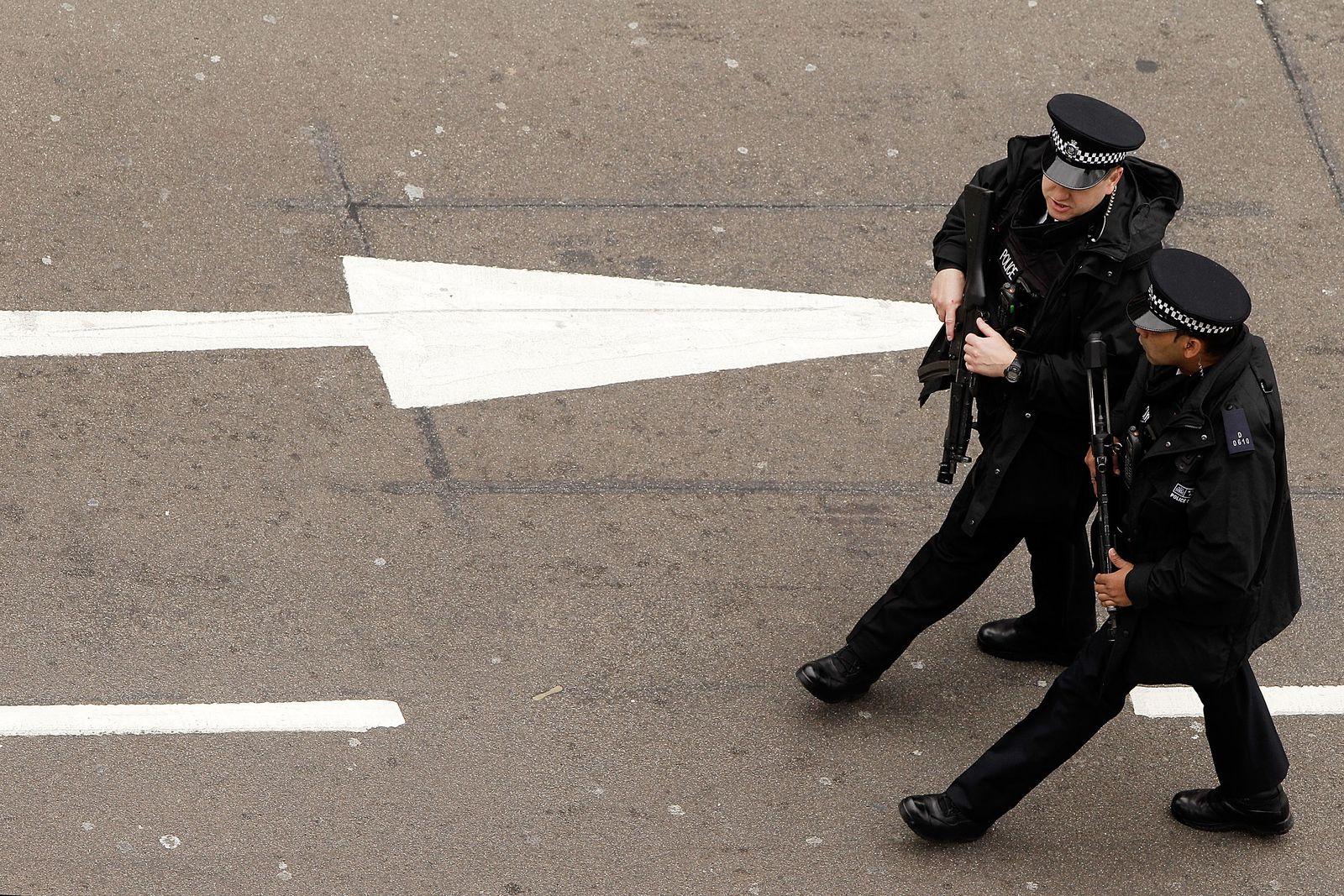 London/ Polizisten