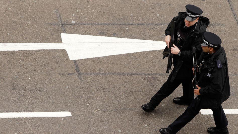 Britische Polizisten: Kameras am Körper
