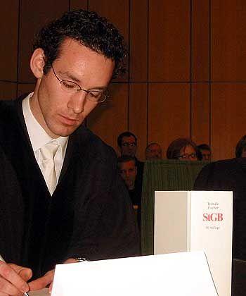 Streng zu Delinquenten: Staatsanwalt Jens Mertens
