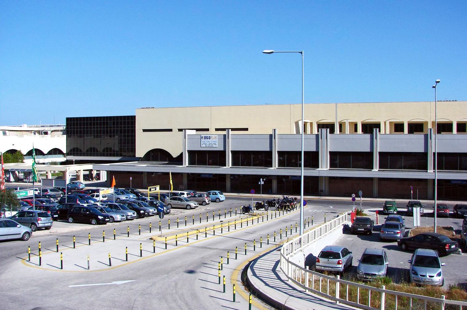 pictures of Greek airport Rhodes airport Diagoras.
