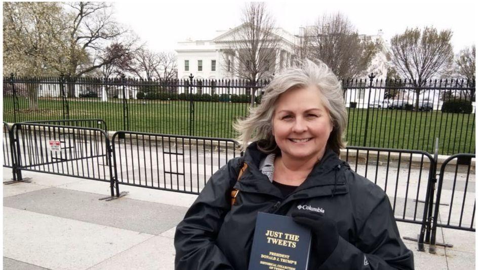 Hope vor dem Weißen Haus