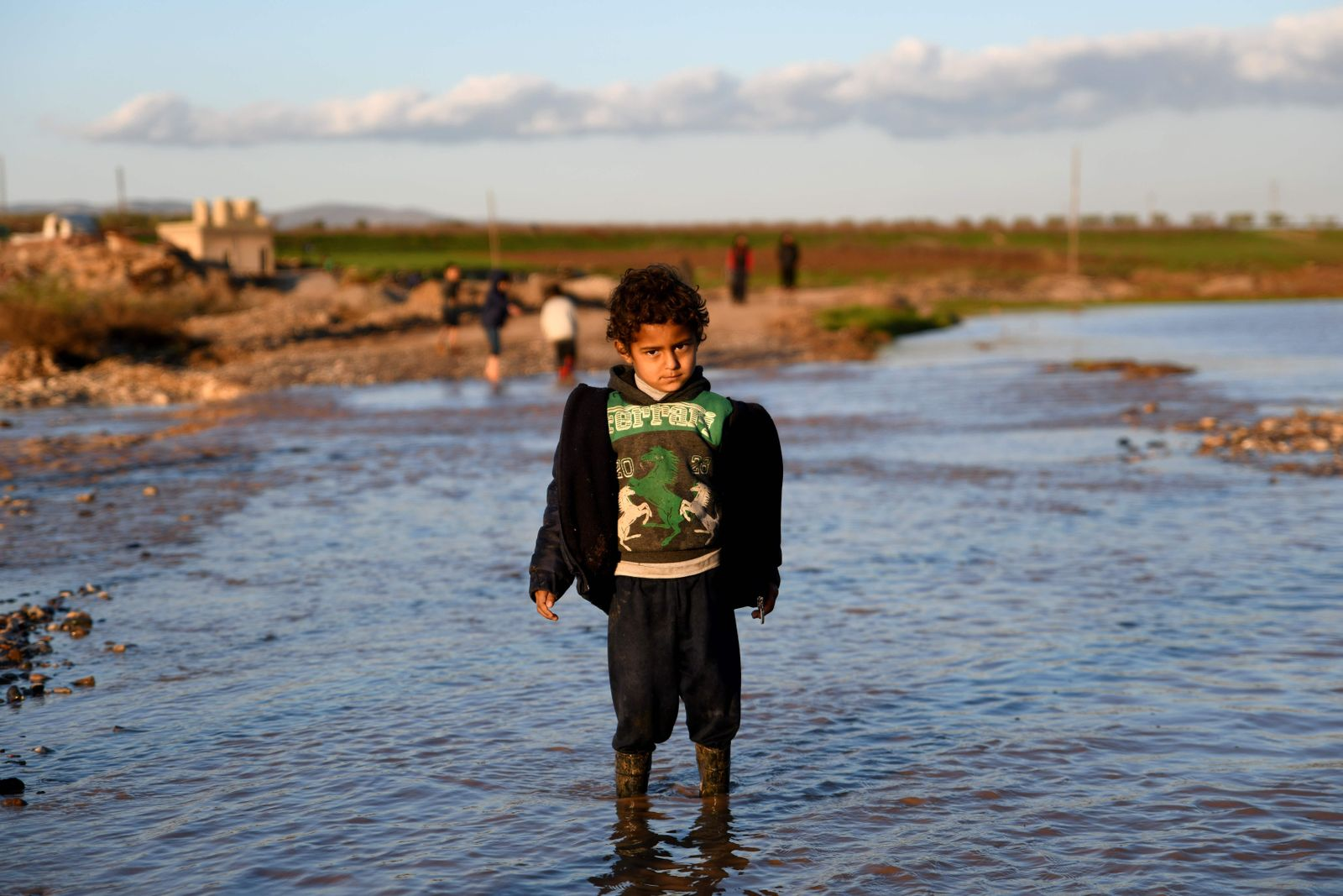 Syria-conflict-SYRIA-CONFLICT-WEATHER-DISPLACED