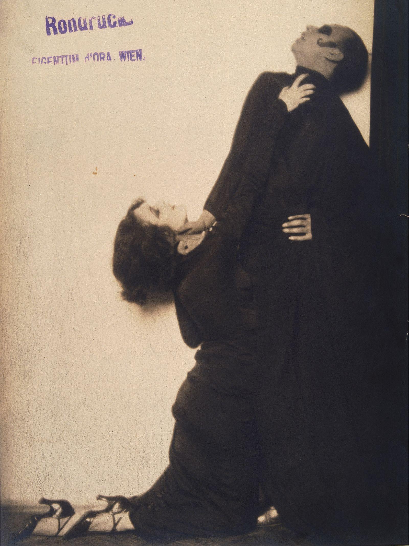 Anita Berber - Dancer Anita Berber And Sebastian Droste