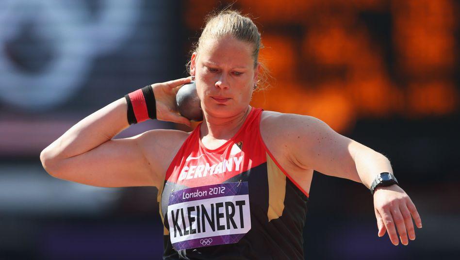 Nadine Kleinert bei den Olympischen Spielen in London 2012