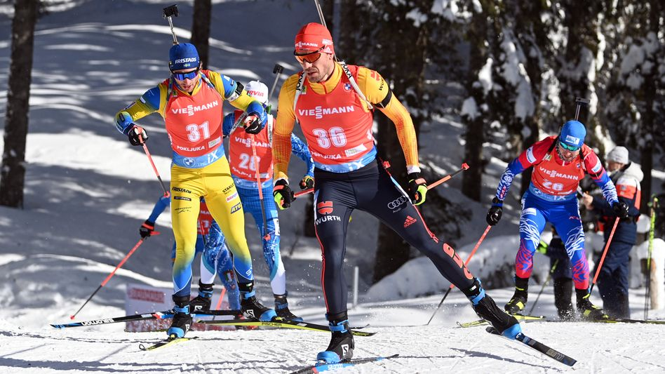 Arnd Peiffer lieft beim WM-Verfolgungsrennen auf den 20. Platz