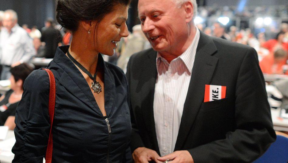 Sahra Wagenknecht, Oskar Lafontaine (im Juni 2012): Hochzeit nicht ausgeschlossen