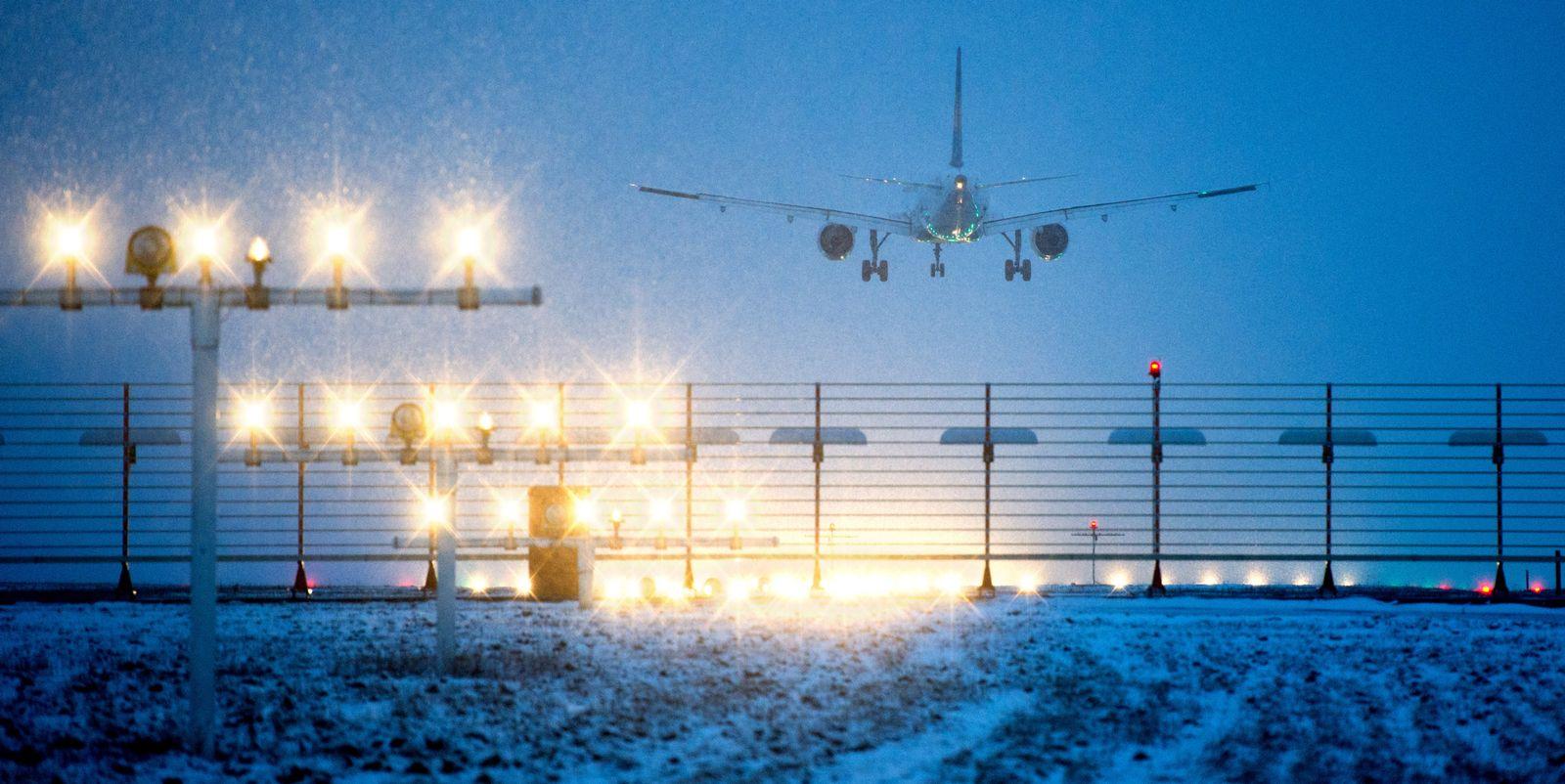Winter / Flughafen Hannover