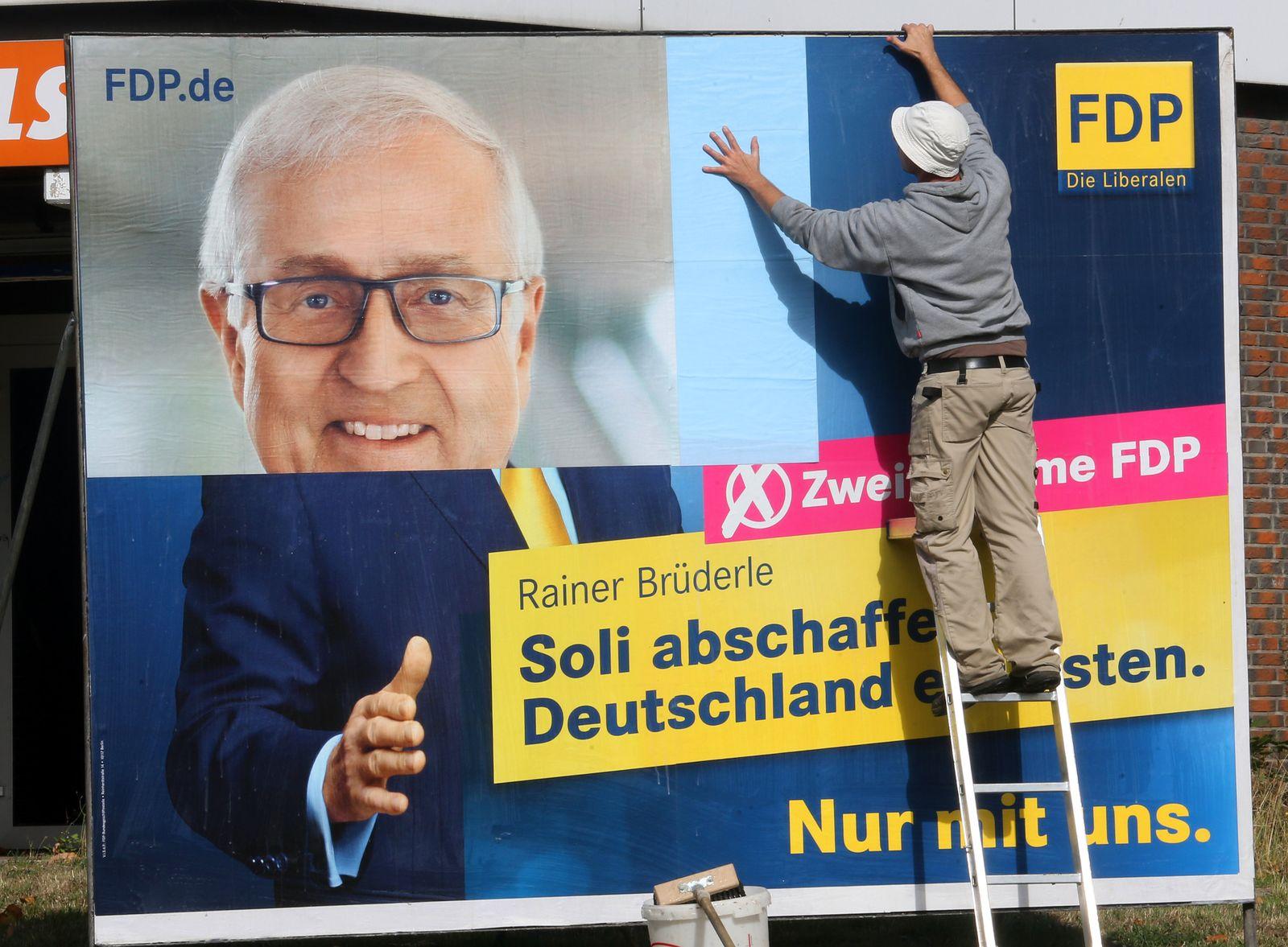 FDP-Wahlplakat 2013