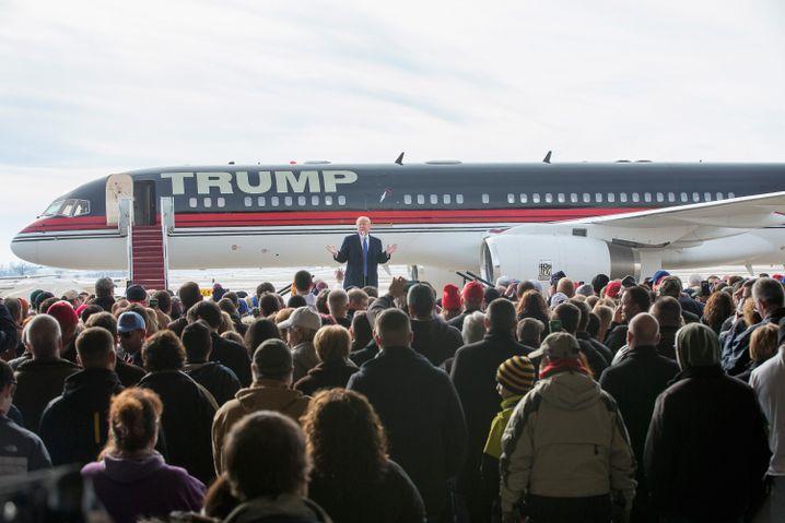 Trump in Dubuque: Politik wie im Hollywoodfilm