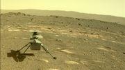 Mars-Hubschrauber fliegt bei drittem Einsatz noch schneller