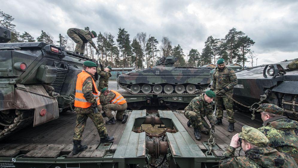 Bundeswehr: Panzer nach Litauen