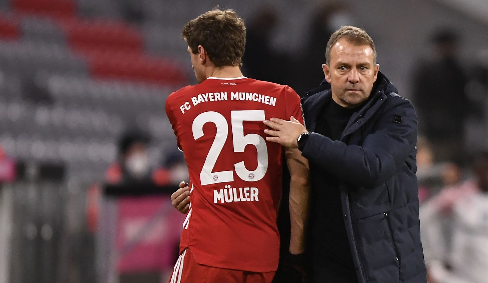FC Bayern Muenchen vs 1. FSV Mainz 05, Munich, Germany - 03 Jan 2021