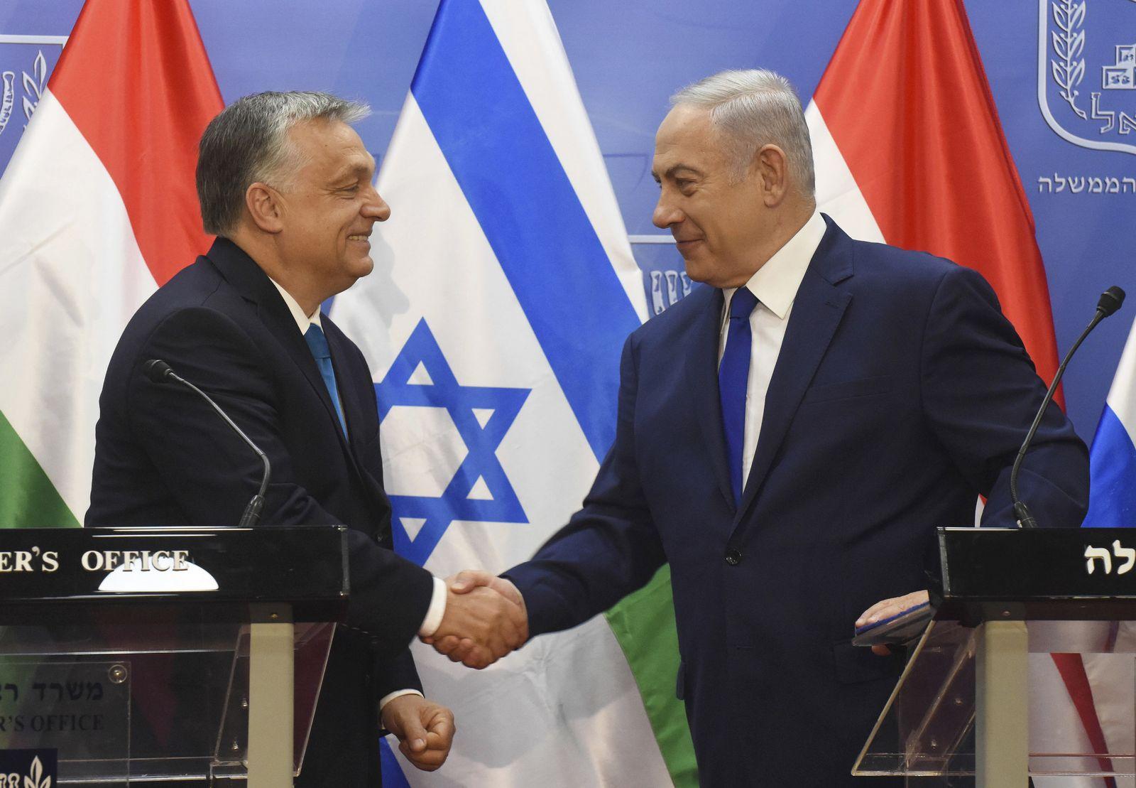 Viktor Orban und Benjamin Netanyahu