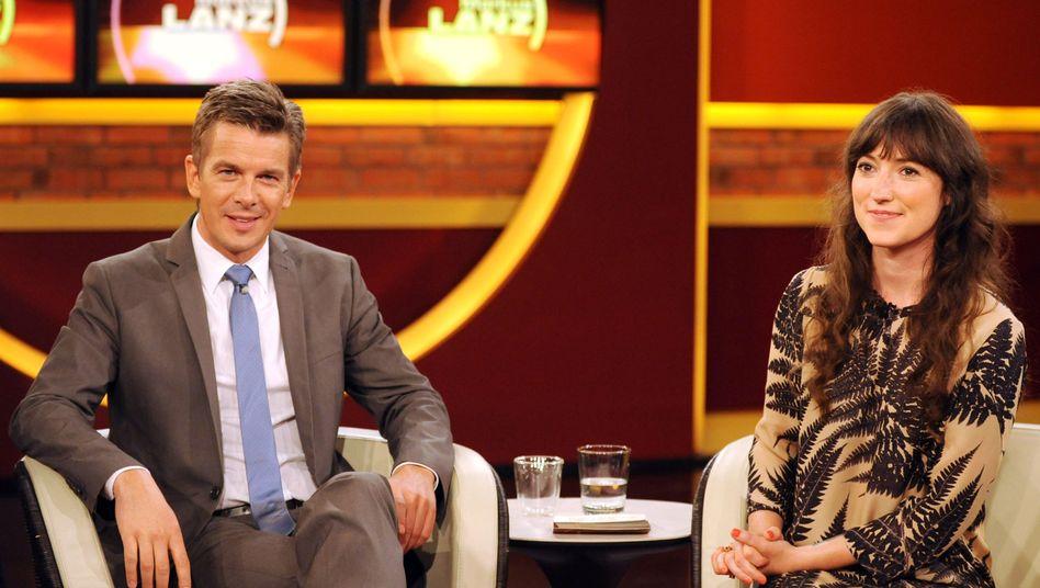 Markus Lanz mit Gast Charlotte Roche: Maximal verklemmt