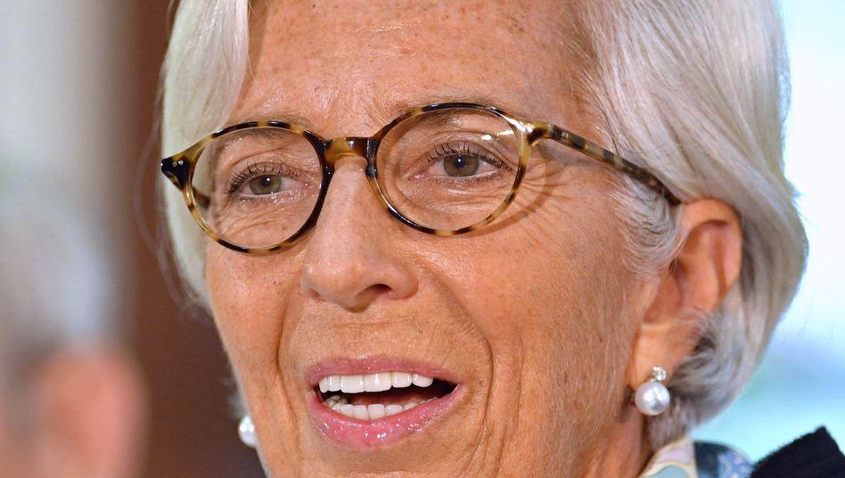 Christine Lagarde soll schon bald die Europäische Zentralbank führen