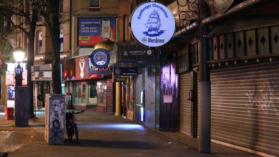 Partymeile Reeperbahn: In Hamburg gilt von 21 Uhr bis 5 Uhr Ausgangssperre