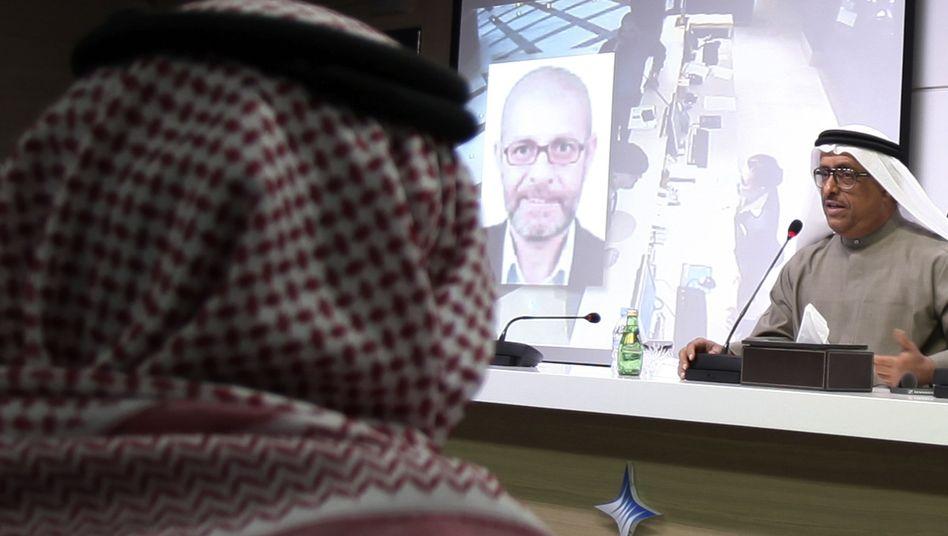 Dubais Polizeichef Dhahi Chalfan am 15. Februar: Israelis gezielt kontrollieren